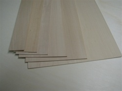 1/16 x 8 x 36 basswood sheets