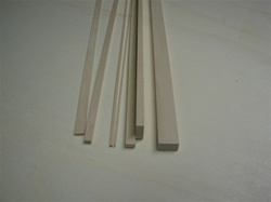 1/8 x 3/4 x 36 basswood sticks