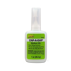 1 OZ ZAP-A-GAP GLUE
